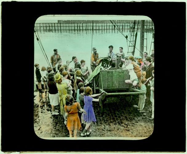 131 July Jaunters at Fish Pier