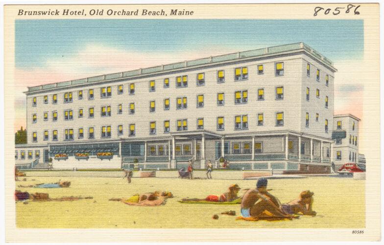 Brunswick Hotel, Old Orchard Beach, Maine