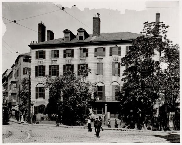 Bowdoin Square, Boston