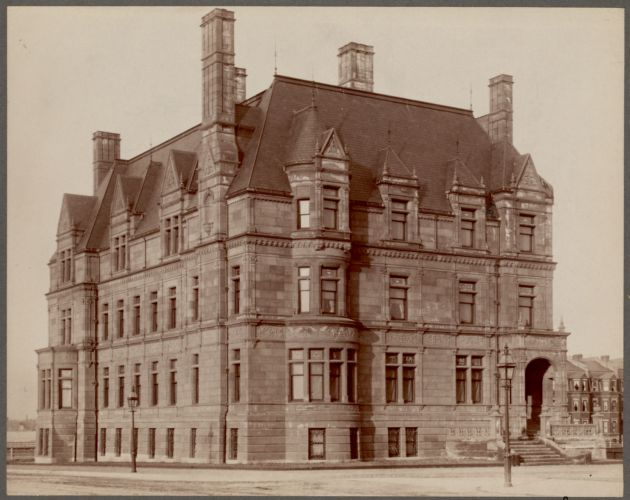 Governor Ames house, Commonwealth Ave., Boston