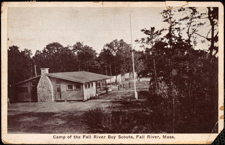 Camp of the Fall River boy scouts, Fall River, Mass.