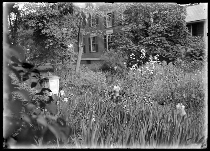 Goldthwait, flowers, sundial