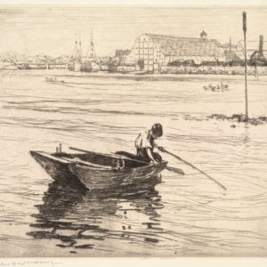 Charles H. Woodbury (1864-1940). Prints, Drawings, Watercolors, Oil Paintings, and Copper Plates