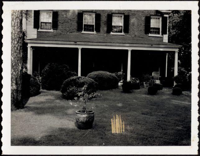 Ashdale Farm. Back porch of main house.