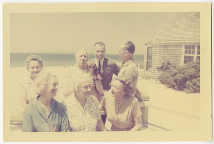 Helen Keller at Martha's Vineyard, June 1961