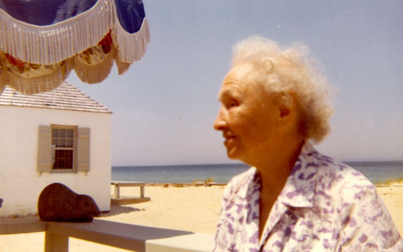 Helen Keller at Martha's Vineyard