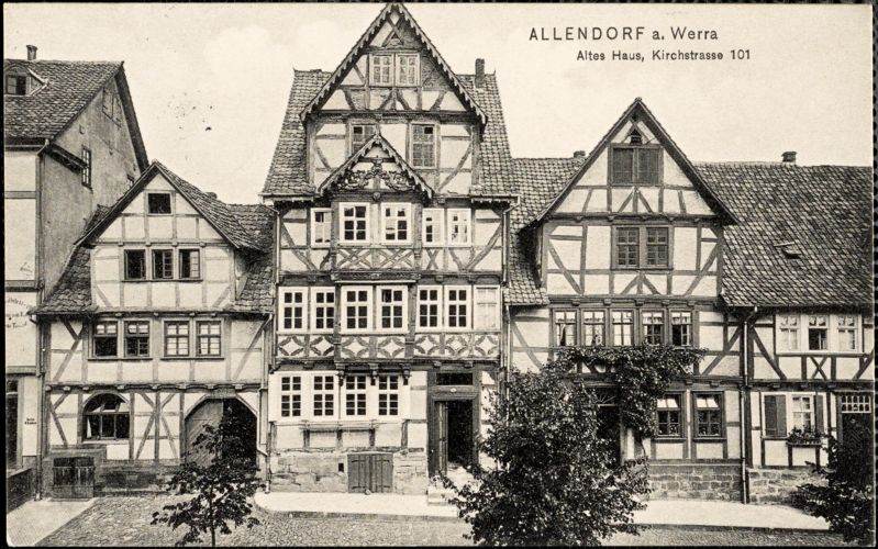 Schmidt, Friedrich autograph note signed to Hugo Münsterberg, Allendorf a. Werra, 26 July 1912