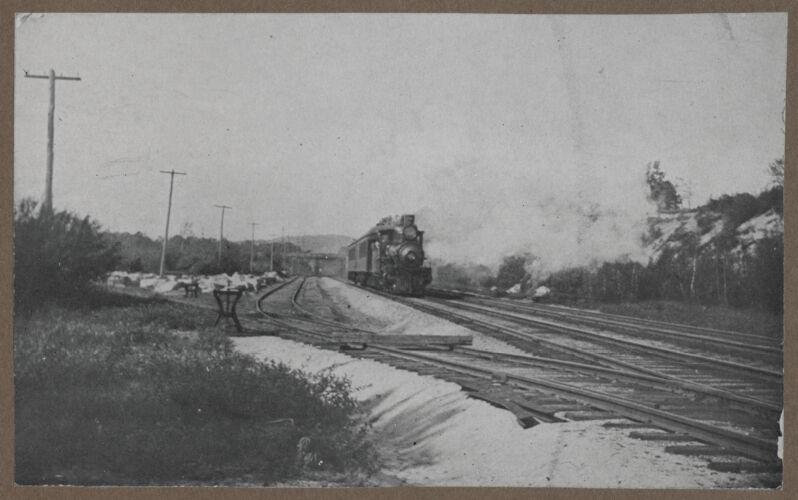 Waban photographs - Steam Train -