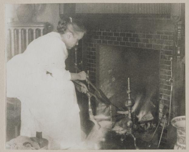 Waban photographs - Mrs. William Saville (Marion Yale Saville) -