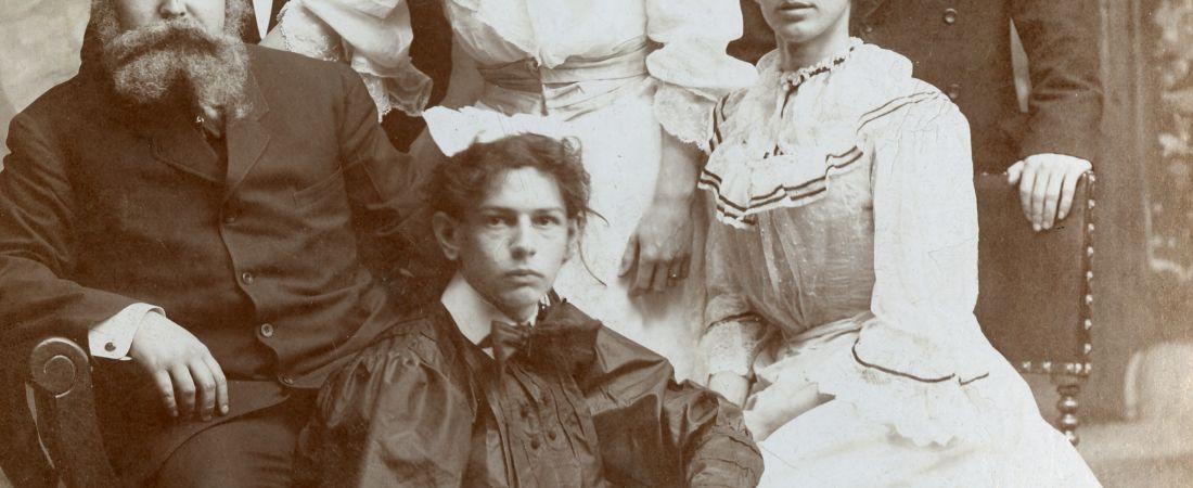 Actors in a Clark University Play, 1906