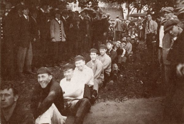 Clark University Rope Pull, 1914