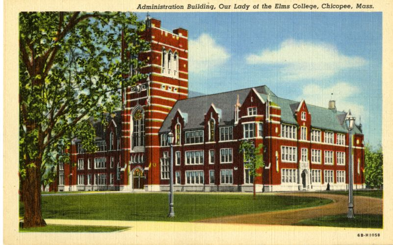 Administration Building, Our Lady of the Elms College, Chicopee, MA