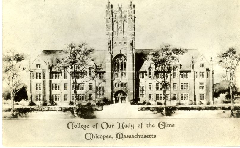 Architect's drawing of the proposed Administration Building.