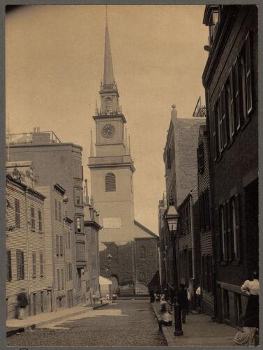 Old North Church on Salem Street, North End