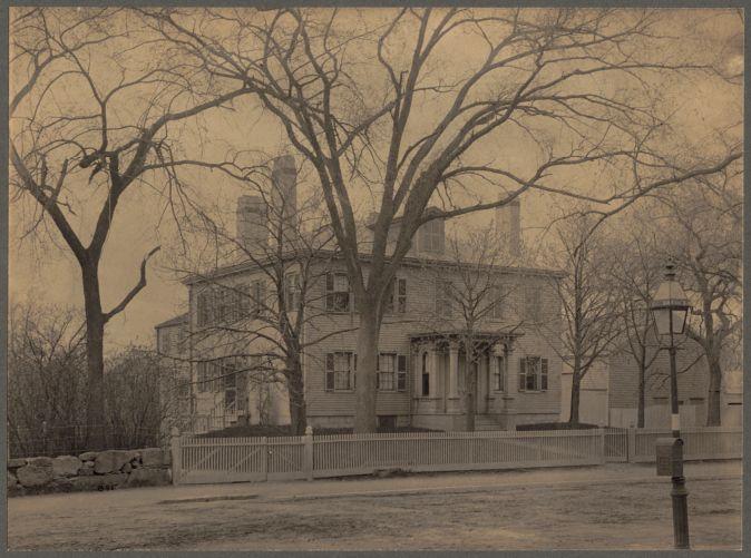 House of William Clapp, Boston Street, Dorchester