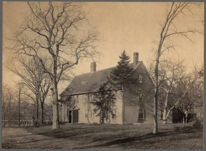 The Pierce House, Oak Avenue in Dorchester
