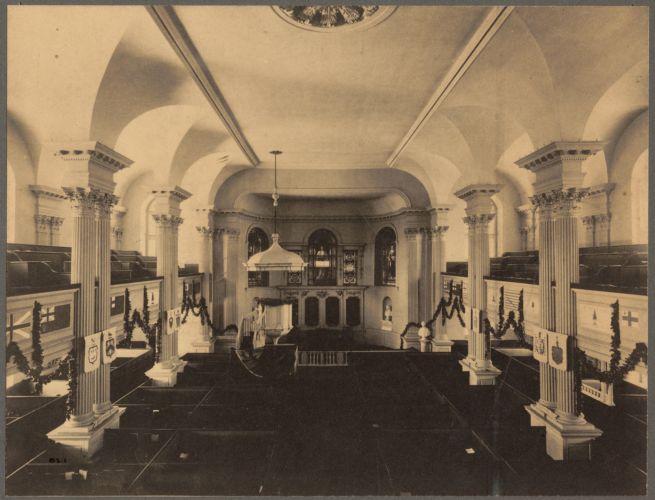 King's Chapel, interior
