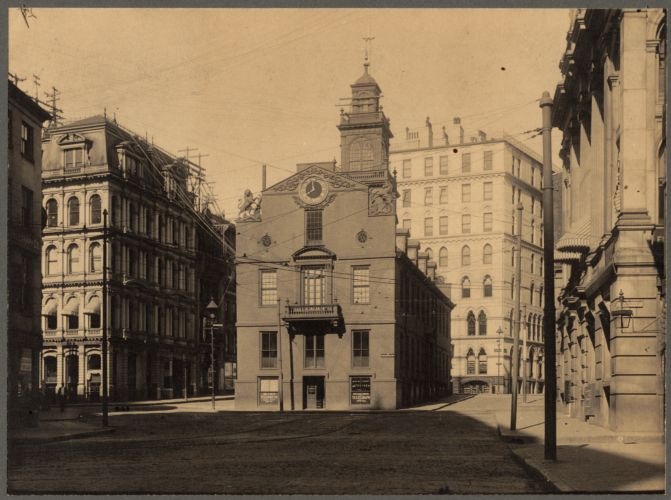 The Old State House, from State Street