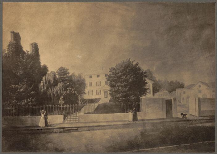House and garden of Gardiner Greene, Pemberton Hill
