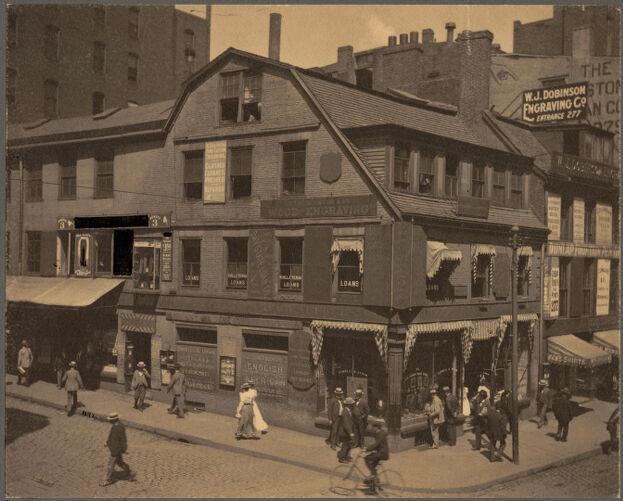 The Old Corner Bookstore