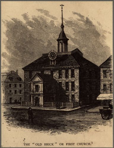 The Old Brick or First Church