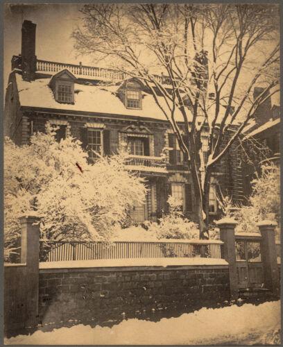 The Hancock Mansion, Beacon Street