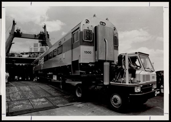 Massport's Conley Terminal. Example of roll on/roll-off or Ro/Ro