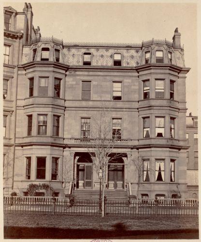 Residence of Otis Norcross and S. Johnson, Jr.
