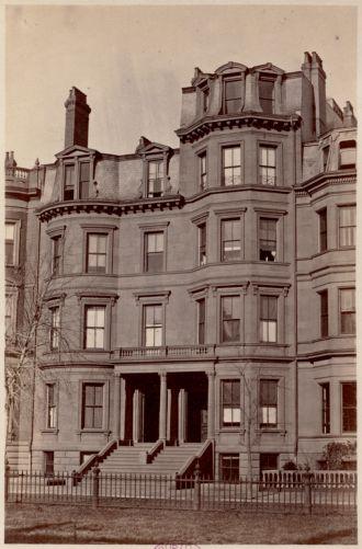 Residence of F. H. Bradlee and H. W. Abbott