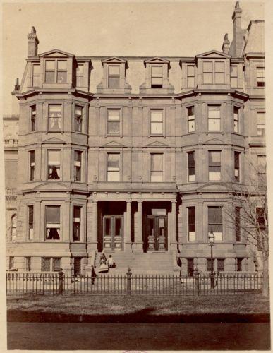 Residence of Mrs. D. N. Spooner and J. A. Burnham