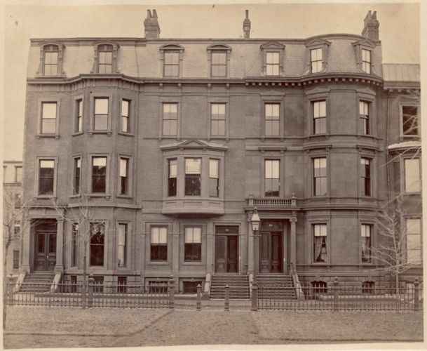 Residence of D. R. Whitney, Miss Brewer and J. R. Brewer