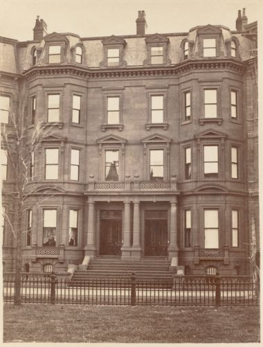 Residence of E. B. Bigelow and T. G. Appleton