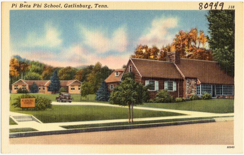 Pi Beta Phi School, Gatlinburg, Tenn.