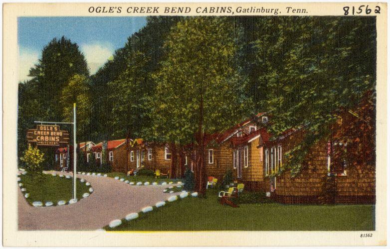 Ogle's Creek Bend Cabins, Gatlinburg, Tenn.
