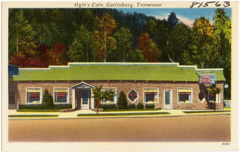 Ogle's Café, Gatlinburg, Tennessee