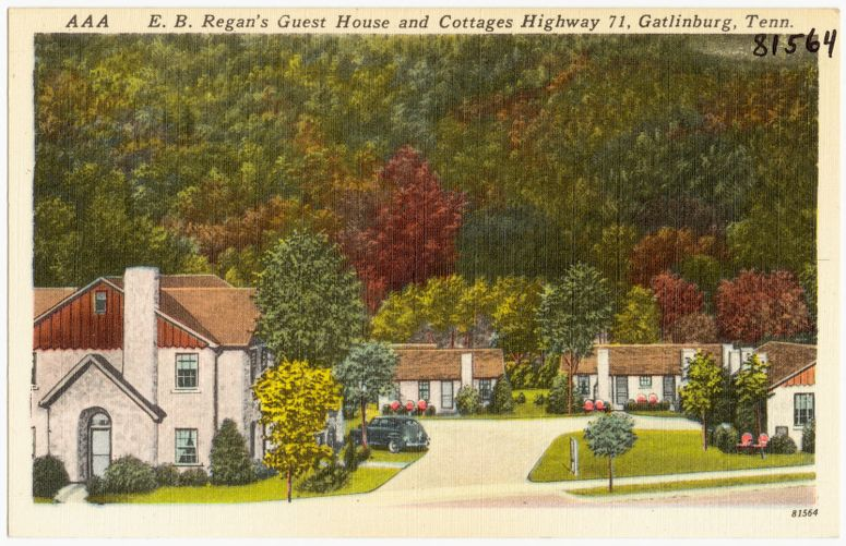 E. B. Regan's Guest House and Cottages, Highway 71, Gatlinburg, Tenn.