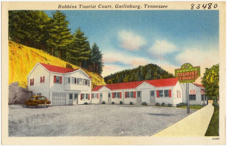 Robbins Tourist Court, Gatlinburg, Tennessee