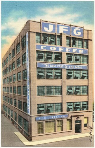 "J. F. G. Coffee Co., ""The best part of the meal"""