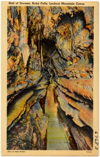 Hall of Dreams, Ruby Falls, Lookout Mountain Caves