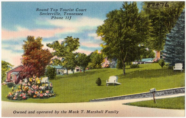 Round Top Tourist Court, Sevierville, Tennessee
