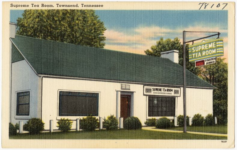 Supreme Tea Room, Townsend, Tennessee