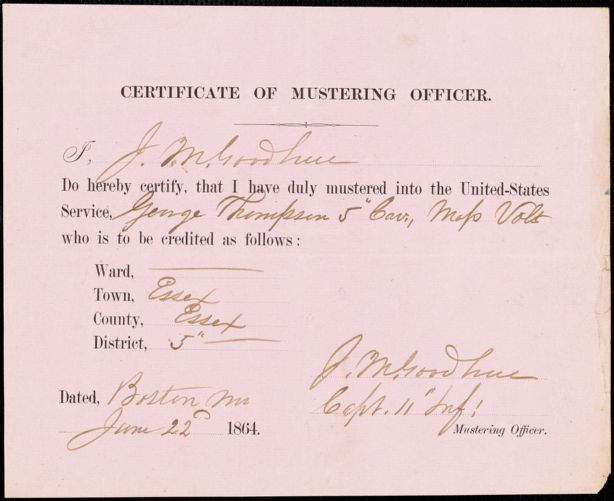 17 individual parties - mustering records
