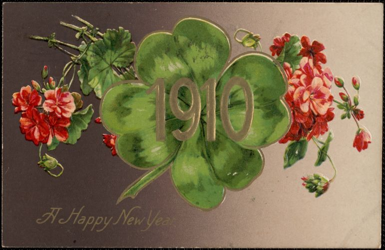 1910 Happy New Year