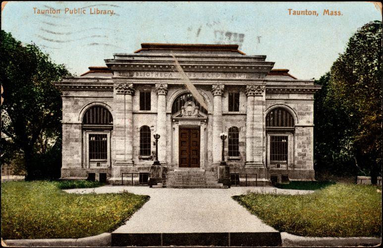 Taunton Public Library. Taunton, Mass.