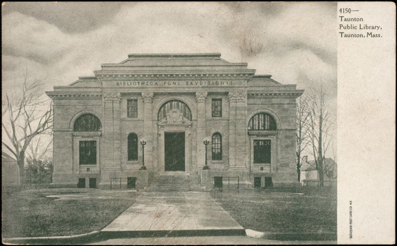 Taunton Public Library, Taunton, Mass.