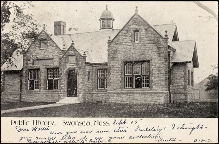 Public library, Swansea, Mass.