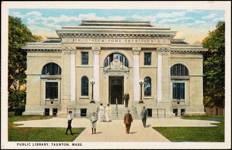 Public library, Taunton, Mass.