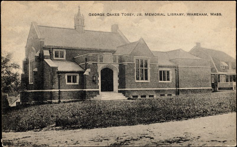 George Oakes Tobey, Jr. Memorial Library, Wareham, Mass.