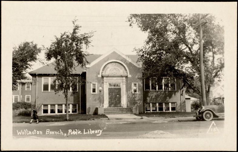 Wollaston branch, public library