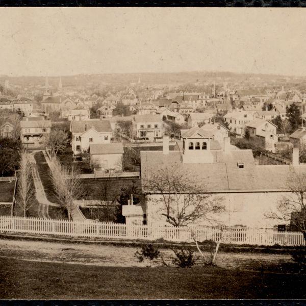View from Mt. Ida. Newton Corner, Newton, MA